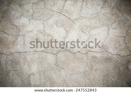 Texture of a cement wall - stock photo