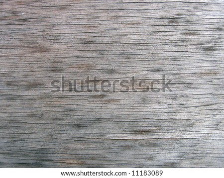 Texture Of A Piece Of Plank - stock photo