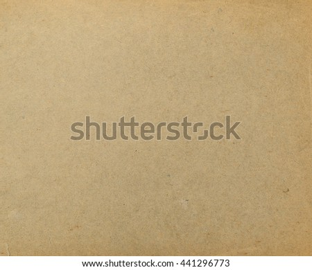 Texture of an old paper, vintage, ecological, waste paper, brown, background. - stock photo
