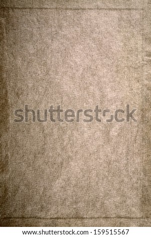 Texture of an old sheet of paper - stock photo