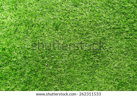 Texture of Artificial Grass Field background - stock photo