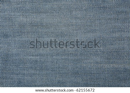 Texture of blue jeans as a background - stock photo