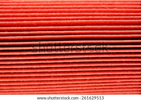 texture of car oil filter  - stock photo