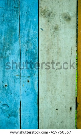 texture of colored grunge wood for Background.Wooden background.Vintage board, colored wood background - stock photo