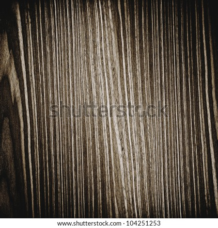 Texture of dark old wood use for background - stock photo