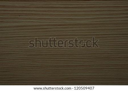 texture of dark wood, horizontal lines - stock photo