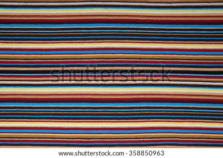 Texture of fabric with colorful pattern. - stock photo