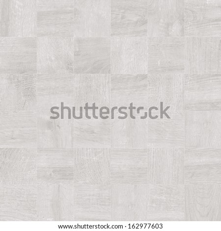 Texture of fine white parquet (High.Res.) - stock photo