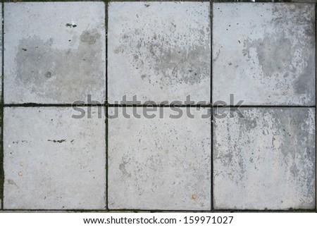 Texture of floor concrete slabs. - stock photo