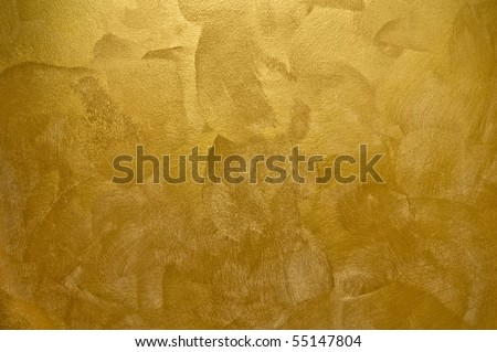 texture of golden background - stock photo