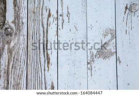 Texture of grey weathered wooden lining boards. - stock photo