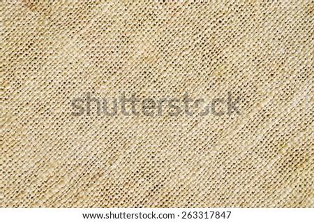 Texture of jute sack - stock photo