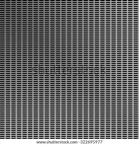 Texture of metal grid metalic mesh - stock photo
