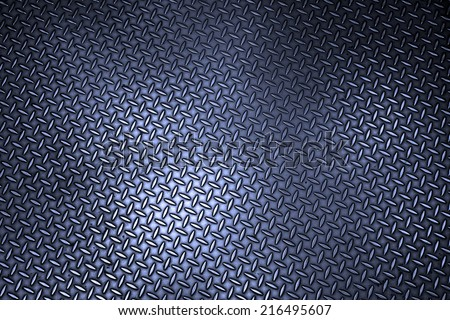 Texture of metal plate - stock photo