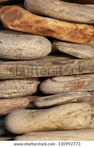 texture of natural stone - stock photo