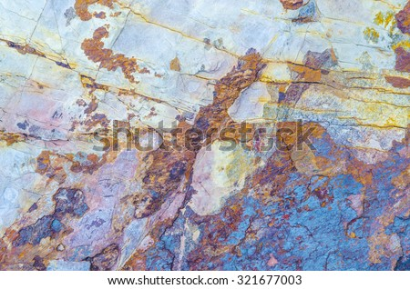 texture of natural stone cut and can be made into furniture - stock photo