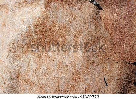 texture of old ferruginous metal, background - stock photo