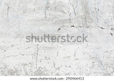 Texture of old grey concrete wall. Grunge background - stock photo