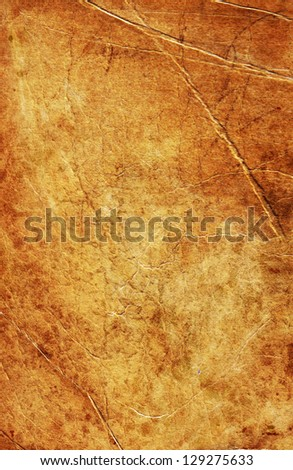 Texture of old paper, fabric as background - stock photo