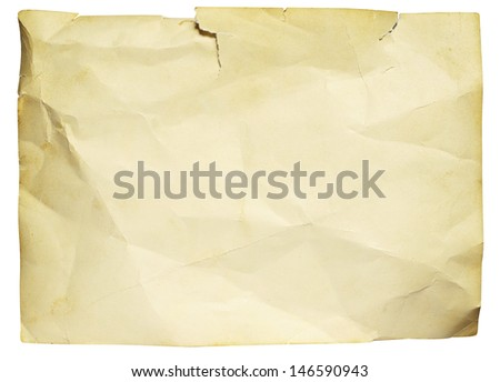 Texture of old ragged photo  - stock photo