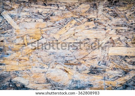 Texture of old recycle wood , background raw material - stock photo