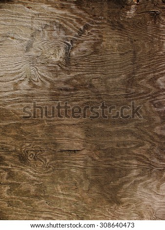 texture of old vintage wood. Plywood. - stock photo