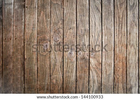 texture of old wood panel  use for multipurpose background - stock photo