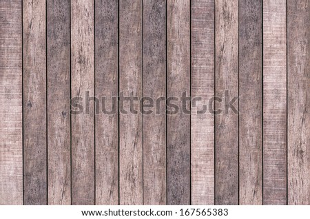 Texture of Old wood wall background - stock photo