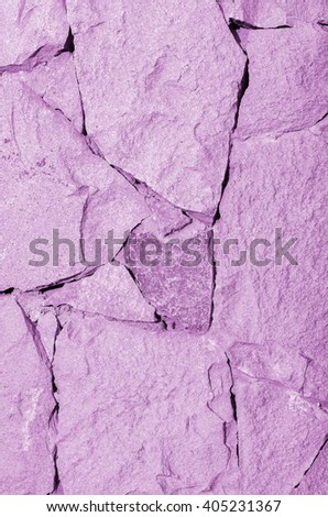 Texture of pink stone fit together. Black and white textured composition - stock photo