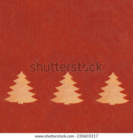 Texture of red jeans background. Seamless Textured Fabric Background chrismas tree ornament / fabric red material / textile - stock photo