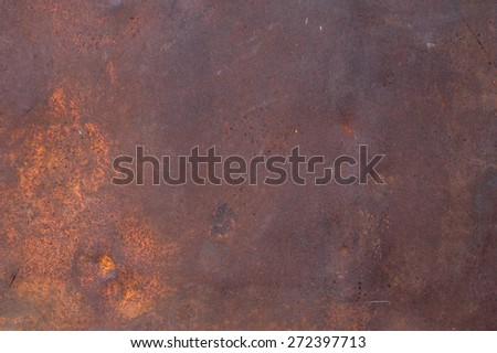 Texture of rough metal - cast old iron - stock photo