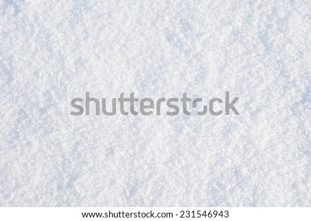 texture of snow - stock photo