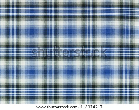 Texture of tartan scottish plaid. - stock photo