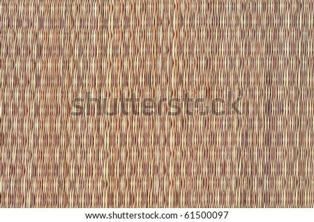 Texture of thai native weave mat - stock photo