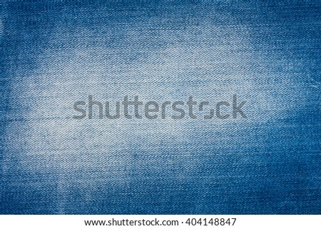 Texture of the classic denim, as background - stock photo