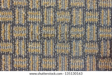 texture of the cloth carpet for background - stock photo