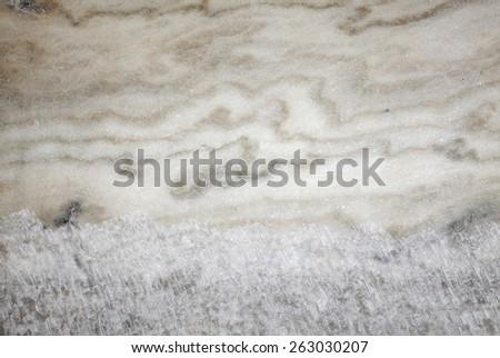 Texture of the salt walls, background. Soledar, Donetsk region, Ukraine, depth of 300 meters - stock photo