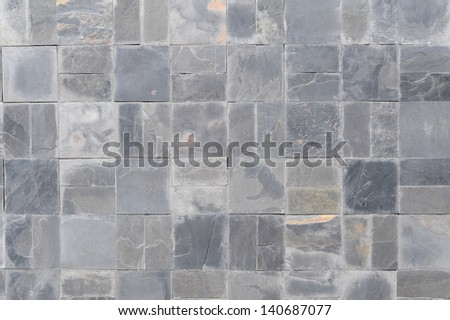 texture of the stone wall - stock photo