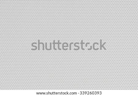 texture of white canvas background - stock photo