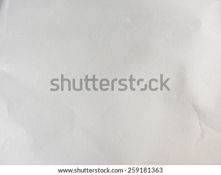 Texture of white paper - stock photo