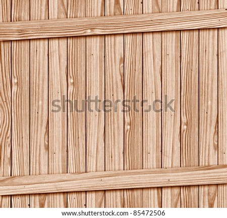 texture of wood box with space - stock photo