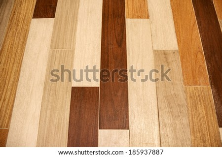 texture of wood flooring background - stock photo