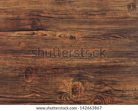 texture of wooden floor board - stock photo