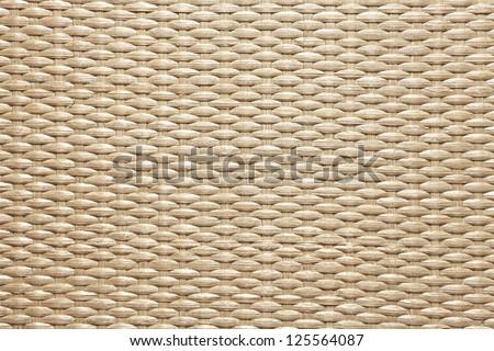 Texture of wooden weaving - stock photo
