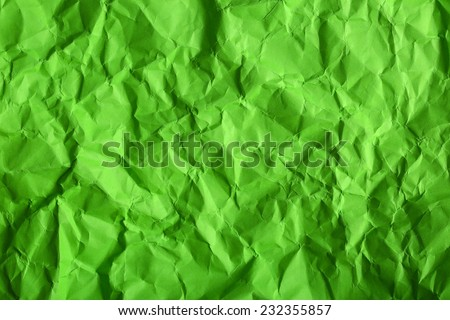 Texture of wrinkled color paper - stock photo