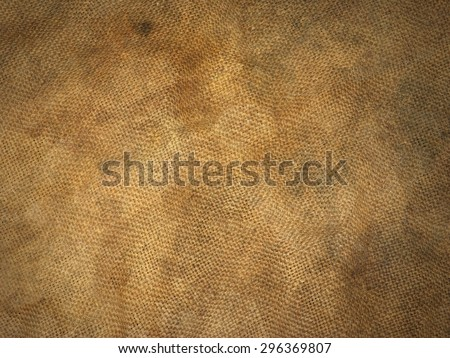 texture old canvas fabric as background - stock photo