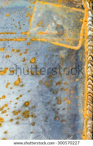 texture old rusty metal  - stock photo