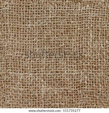 Texture sacking. Seamless texture - stock photo