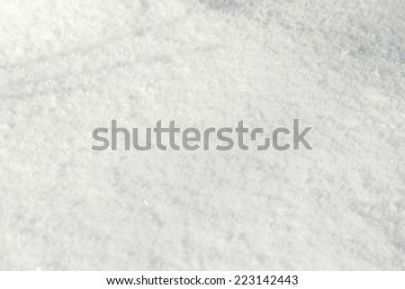 Texture snow - stock photo