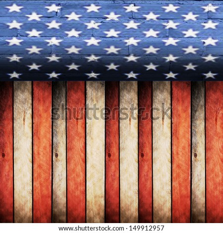 texture  USA - stock photo